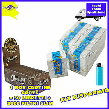 3000 filtri RIZLA SLIM 6mm 2 BOX + 3000 Cartine SMOKING BROWN senza cloro 1 BOX