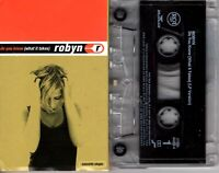 Robyn Do You Know What It Takes 1997 Cassette Tape Single Pop Dance Rock