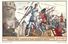 CARD IMAGE 1937: Jeanne d'Arc Joan of Arc assiège Orléans