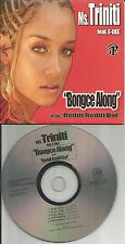 MS. TRINITI & E DEE Bonge Along / REddie Boi 5TRX EDIT & INSTRUMENTAL CD single