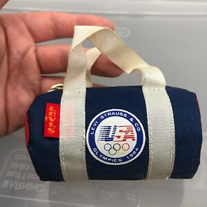 Vintage Levi's Strauss 1984 USA Olympics Small Bag. Coin Purse Cigarette Holder