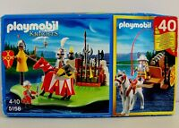 Playmobil 5168 Knights Training Corner with Loads of Weapons