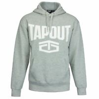 Tapout Mens Large Logo Hoodie OTH Hoody Hooded Top Drawstring