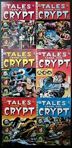 Tales from the Crypt #'s 1-6 Complete Gladstone EC Reprints! 64 Pages! (1990-91)