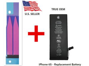 OEM Original Genuine Apple iPhone 6S Battery Replacement 1715mAh +Adhesive Tape