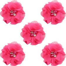 5 PCS Children Baby Cute Hair Clip Pearl Rhinestone Flower Hairpins Headwear