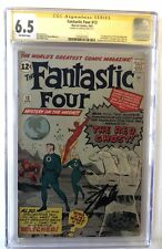 Fantastic Four (1961) #13 ~ CGC 6.5 ~ 1st Watcher & Red Ghost Signed By Stan Lee