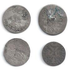 4 sehr alte Österreichische Silbermünzen RDR Austria