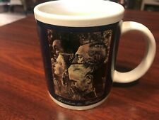 Norman Rockwell Coffee Mugs Cups Set of 2 Freedom to Worship&Freedom of Speech