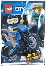 LEGO City Policeman and Motorcycle Promo Foil Pack Set 951808