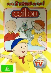 Caillou (DVD) Over 2 Hours of Fun! - Region 4 - New and Sealed