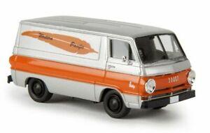 1:87 Scale Brekina 34356 Dodge A100 Van - Western Pacific - BNIB