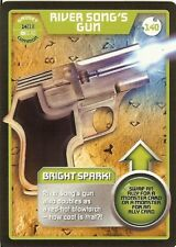 DR WHO TRADING CARD: MONSTER INVASION - 140 RIVER SONG'S GUN