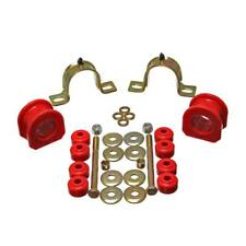 Energy Suspension Sway Bar Bushing Kit 3.5207R; 33.00mm Front Red for S-10