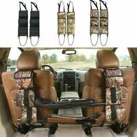 Car Seat Back Hunting Gun Rack Rifle Shotgun SUV Truck Storage Sling Rack Holder