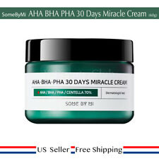 Some By Mi AHA BHA PHA 30 Days Miracle Cream 60g + Free Random Sample [ US ]