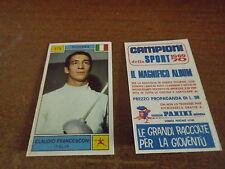 CAMPIONE DELLO SPORT 1969 70 # 379 CLAUDIO FRANCESCONI - NUOVA