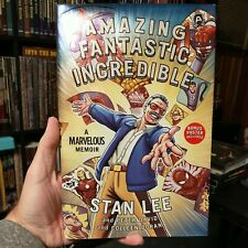 Amazing Fantastic Incredible Stan Lee (SIGNED BY STAN LEE! Comic Book w/ Poster)