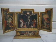 Triptychon Hausaltar Klosterarbeit