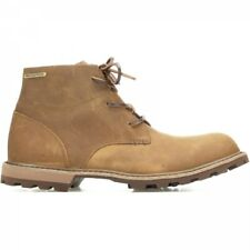 Muck Boots FREEMAN Mens Autumn Workwear Leather Lace Up Waterproof Boots Tan