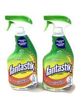 (2) Fantastik Fresh Scent 32oz Multi Purpose Spray Kills 99.9% Viruses Bacteria