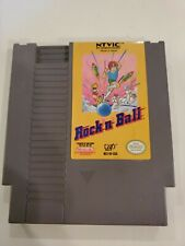 Nintendo NES Game Rock 'n Ball AUTHENTIC CARTRIDGE ONLY FREE S/H