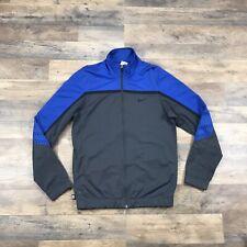 Nike Elite Track Jacket Mens Small Swoosh Check Logo Nike Basketball Full Zip Up
