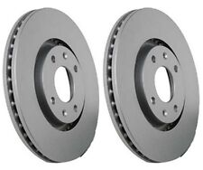 2X Peugeot 206 207 307 308 SW 1.4 1.6 2.0 HDi 283mm With ESP Brake Discs 2000->