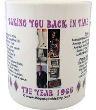 1965 Year In History Coffee Mug Includes Gift Box Born In 1965 Birthday Gift