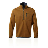Craghoppers Mens Etna Half Zip Top - Orange Sports Outdoors Warm Breathable