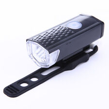 300LM 3 Mode Bike Front Head LED Light USB Rechargeable Bicycle Lamp Lightin