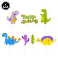 Colorful Little Animal Cake Insert Row Baby Shower Birthday Party Decoration NEW