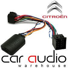 T1-CT2-KENWOOD Citroen Xsara Picasso C2 C3 C5 C8 Steering Wheel Adaptor