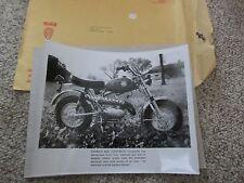 PREMIER BEBE FOUR SPEED MINNI BIKE BERLINER MOTOR CORP ORIGINAL PIC