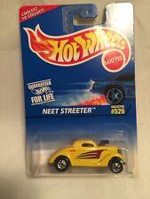 Hot Wheels Neet Streeter #526 Yellow 1:64 Diecast Car 1996 Mattel New