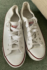 Converse All Star White Ladies Shoes Size 6 / 39 Canvas