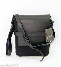 A X ARMANI EXCHANGE  Messenger Crossbody Side Bag Pouch Satchel 100% New