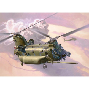 Revell 03876 1/72 Boeing MH-47 Chinook US Army Night Stalkers and RAF Plastic Mo