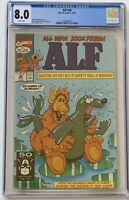 Alf #48 - CGC 8.0 - 1981 - Controversy Seal Cover - Banned - Scare in a CGC 8.0