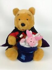 "Winnie the Pooh 10"" Magician Pooh Bear Plush Stuffed Toy Walt Disney Company"