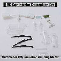 Neu Starke LC80 RC Auto Innendekoration Set für 1/10 Simulation Klettern RC Auto
