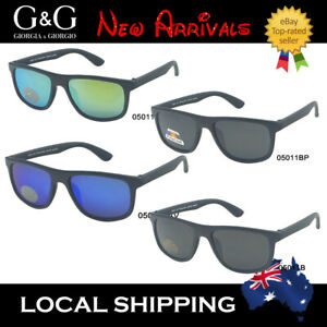Kids Boys Cool Sunglasses Wayfarer Sporty/ Polarized Available + Free Pouches