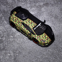 JEC 1:64 Scale Lamborghini Huracan LP610 Liberty Walk Car Model Shark Edition