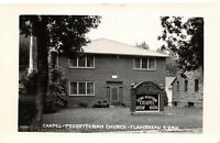 Flandreau South Dakota~Second Presbyterian Church Chapel~1950s Real Photo~RPPC