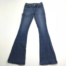 American Eagle Outfitters Women's Hi-Rise Artist Super Stretch Boot Cut Jeans 00