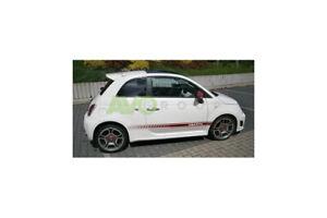 Roof spoiler for Fiat 500 07-15