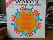 New listing DISCO BOOGIE - SUPER HITS FOR NON-STOP DANCING Vintage Vinyl Double LP