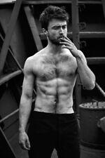 DANIEL RADCLIFFE nude male 8x11 PHOTO beefcake Gay interest BUY 2, GET 1 FREE