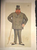 Original Victorian Vanity Fair Print: The Duke of Wellington - January 3rd 1885