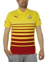 Puma Ghana Hoped Polo Herren rot gelb Fußball 744667 04